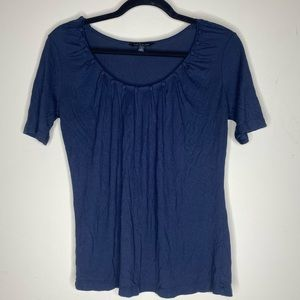 The Limited navy blue top